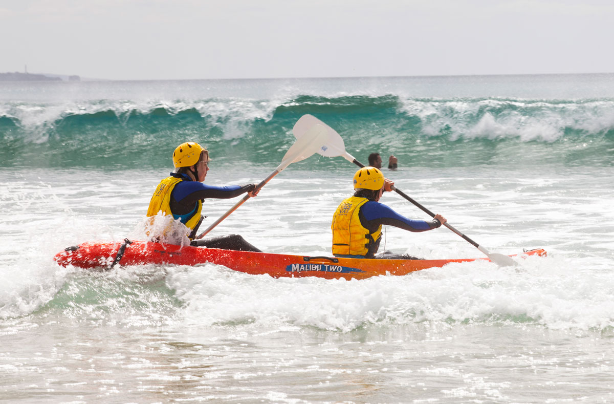 Club Lorne Activities Kayaking
